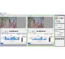 Software GOKO-VIP for the velocity measurement