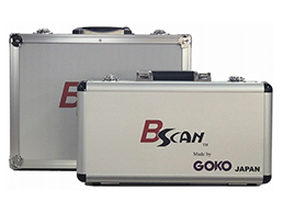 Appearance of the exclusive carrying case for the whole body capillaroscope GOKO Bscan-Z